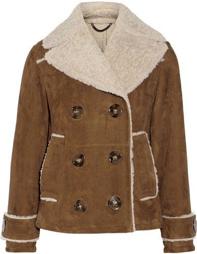 Burberry Prorsum short shearling sheepskin coat | Coats