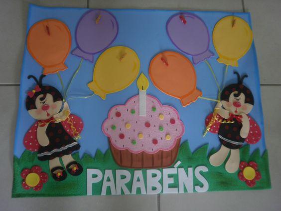 cartaz Parabéns
