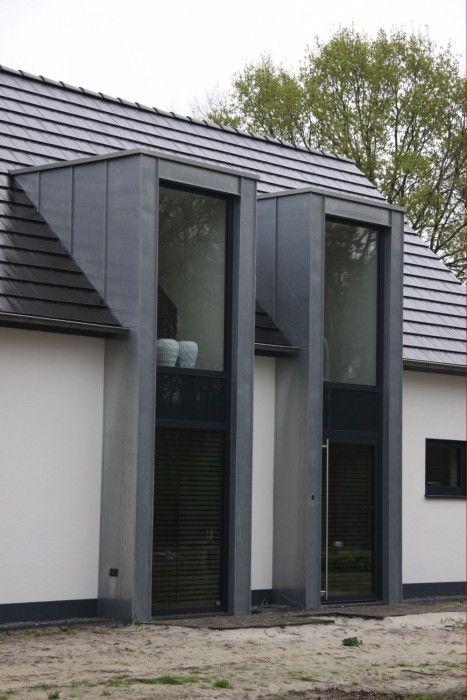 Moderne dakkapel google suche stehfalz standing seam rheinzink titanzink roof dach - Huis buitenkant ...