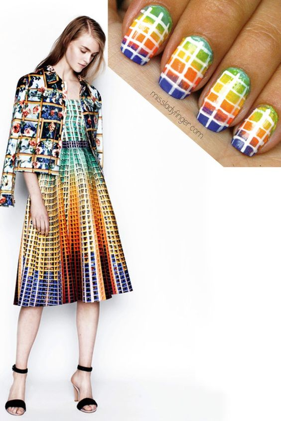 MANICURE MUSE: Mary Katrantzou Resort '14
