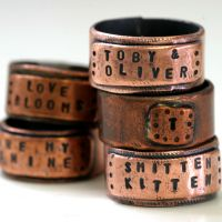 Large Copper Wide Band Ring Personalized #ring #jewelry #copper