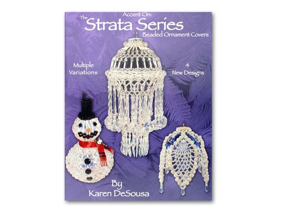 The Strata Series Beaded Ornament Covers on sale for 16.27 at artbeads.com