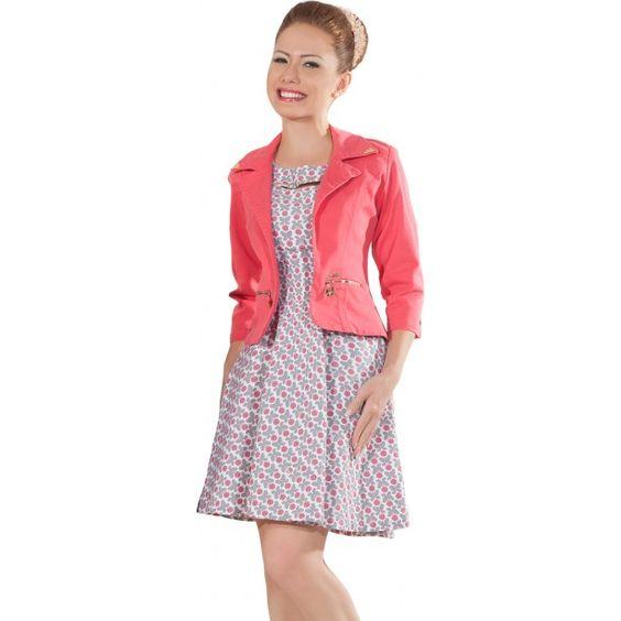 Vestido Jardinagem Hapuk 58512