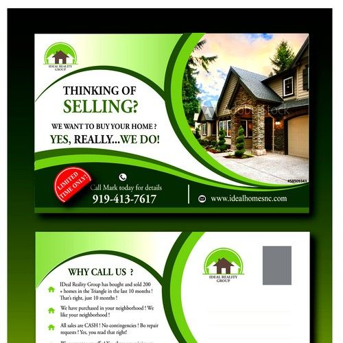 We Buy Houses Cash Because We Have All The Moneys Ohhh Yes Postcard Flyer Or Print Contest Sponsored Postcard Flye We Buy Houses Flyer Printing Home Buying