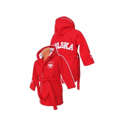 Szlafrok Polska Czerwony 176 182 Cm 8612271553 Allegro Pl In 2020 Athletic Jacket Jackets Hooded Jacket