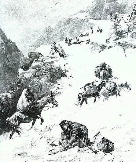 a history of the donner reed party in sierra nevada Survival lessons from the pioneers: the donner party tragedy in the history of the have to deal with the desert and the sierra nevada reed would later.