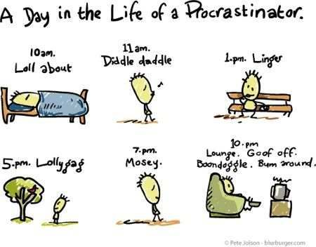 What are your proven tips to avoid procrastination?