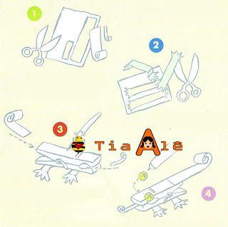 ARTE COM PRENDEDORES 1 - RECICLAGEM | ´¯`··._.·Blog da Tia Alê