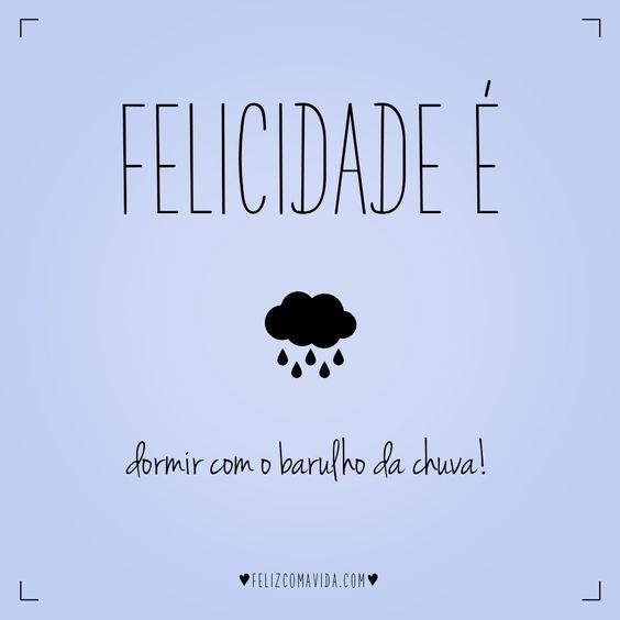 Dormir com o barulho da chuva é tudo de bom! | felicidade, feliz, rain, happy, happiness |: