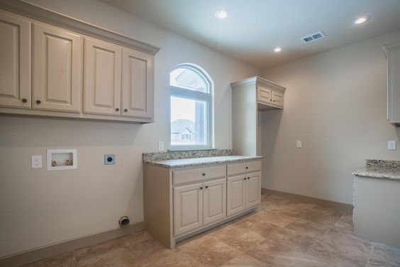 Laundry room...space for stand up freezer