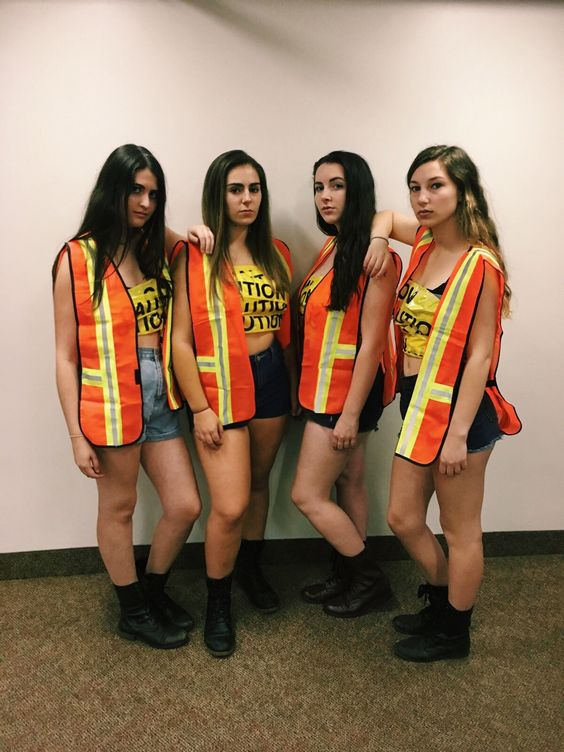 Cute Halloween costume for college girls