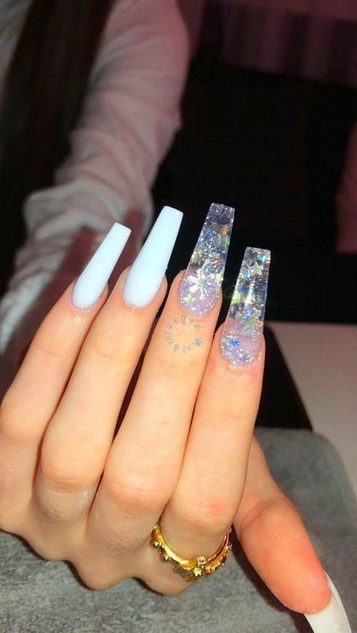 Acrylic Nails Coffin Spring Acrylic Nails Long Acrylic Nails Coffin Nails Designs