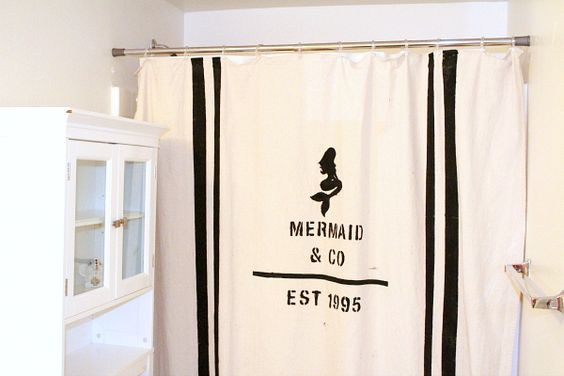 Mermaids Drop Cloths And Showers On Pinterest