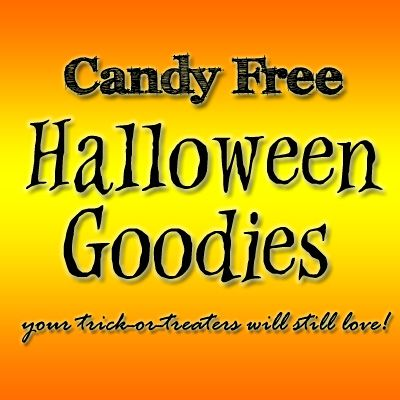 This Halloween instead of giving chocolate and sweets, why not try these candy-free treats! | SavingByDesign.com