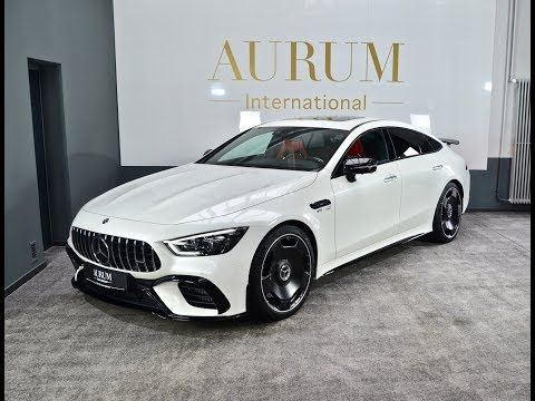 New 2019 Mercedes Benz Amg Gt 63 S Gt4 Designo Diamond White