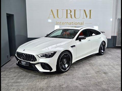 New 2019 Mercedes Benz Amg Gt 63 S Gt4 Designo Diamond White By Aurum International Youtube Mercedes Benz Amg Mercedes Benz Benz