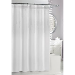 White Rhinestones Shower Curtain | The o'jays, Products and The white