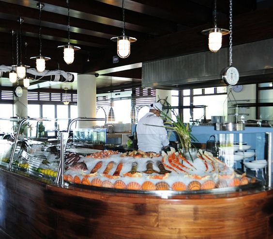 Seafood market fred 39 s house seafood market grill for Fish market design ideas