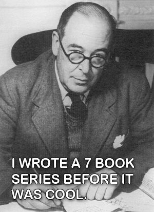 Hipster C.S. Lewis OH YEAH! he's awesome