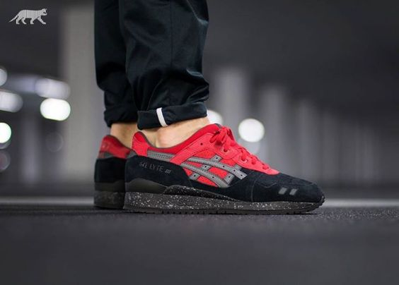 Amazing OTF shot of the ASICS Gel Lyte III Bad Santa. Available Saturday  14th November http://ift.tt/1W6XSk6 | Men's shoes casual style | Pinterest  | 14 ...