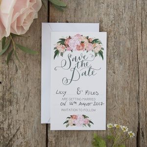 Wedding Save the Date Cards Stationery Invitations
