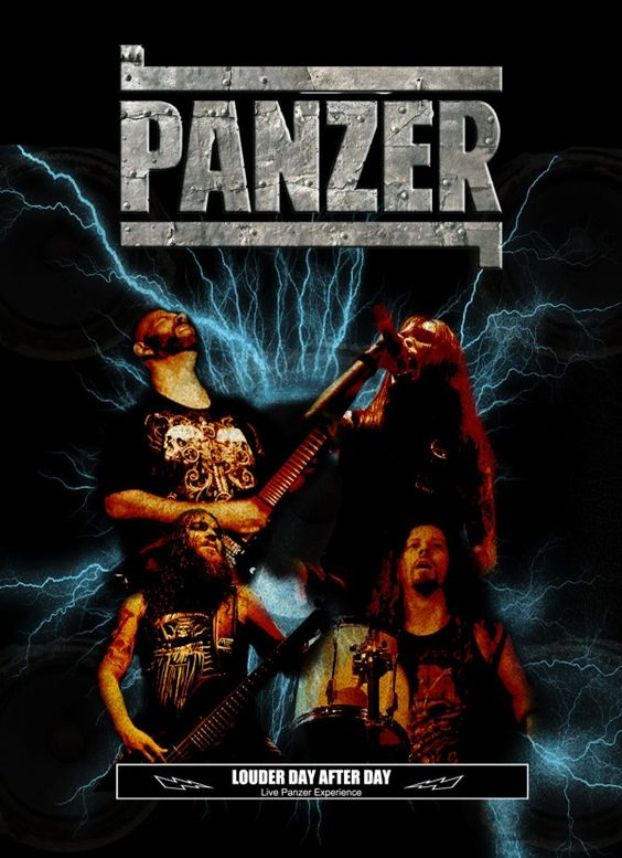 """PANZER: Review of 'Louder Day After Day' – Whiplash – Metal Media – """"The experience of André Pars (guitar) and Edson Graceffi (drums) joins the youth of the singer Rafael Moreira and DM. Pars shown a cohesive and accurate guitar player, distilling with energy his riffs and solos, while Graceffi makes it look easy to play drums and DM is the casualness itself. Moreira shown a great..."""