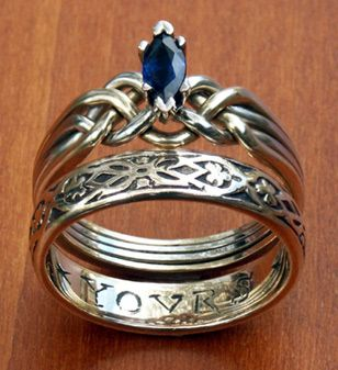 This is probably one of the prettiest rings I have found. I love sapphires with silver.