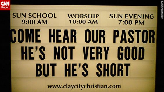 Funny Church Signs....: