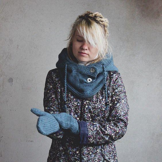 капюшон / снуд / hood / scarf /  scarf-hood / knit / knitting / knitted / /// sequoyah.ru   instagram - sequoyah22
