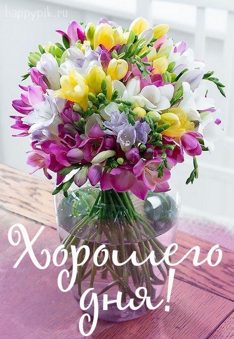Dobroe Utro Krasivye Kartinki Svadebnye Cvety Vaza Bez Cvetov