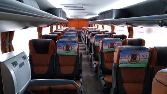 Bus companies in Latin America are designating half of their seating rows to no occupancy.
