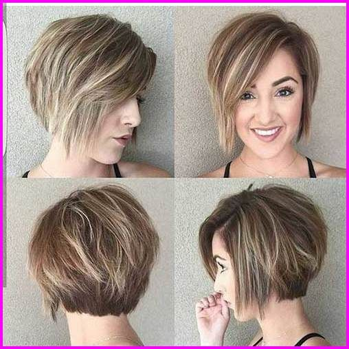 40 Best Short Haircuts for Round Faces 2019