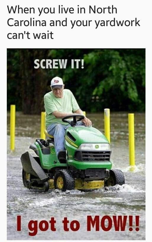 Pin By Amy Caulk On Weather Meme S Mowing Rain Humor Screw It