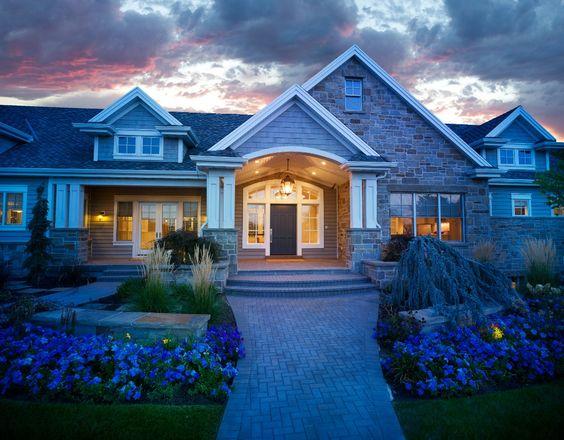 Craftsman Rambler Utah Luxury Custom Homes #customhome builder #lanemyers…