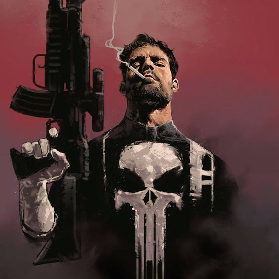 The Punisher by Dave Seguin *