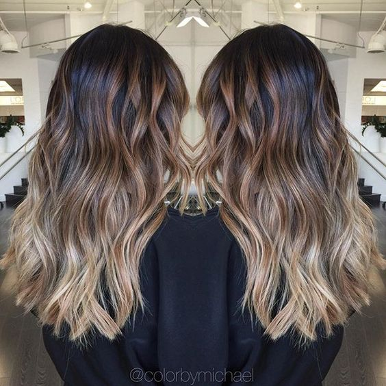 Balayage ombre on level 1 asian hair.