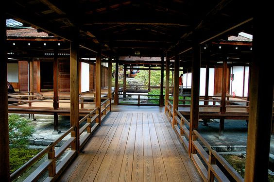 Japanese Architecture  Raised platforms, open structure.