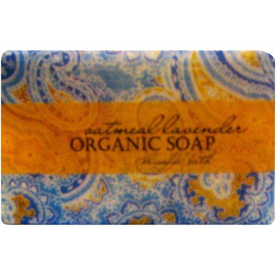 Oatmeal Lavender Organic Soap