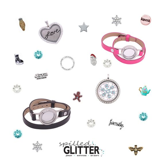 We've got tons of new, exciting Locket Charms & Locket Accessory styles in, just in time for your Holiday Shopping! https://spilled-glitter.com/