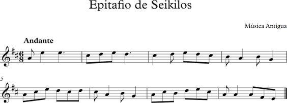 Epitafio de Seikilos.