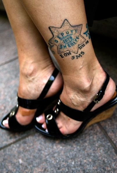 Fallen officers honored at nat 39 l law enforcement officers for Law enforcement tattoos pictures