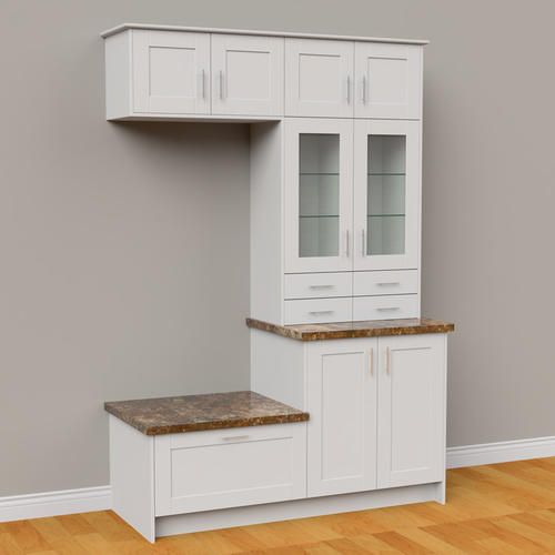 Klearvue Cabinetry Stromma White Small Foyer Cabinets Only