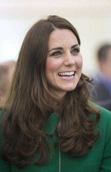 Kate Middleton Photos Photos - Catherine, Duchess of Cambridge during a visit to…