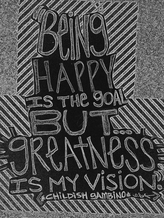 One of my favorite Childish Gambino Lyrics. | Quote Art ...