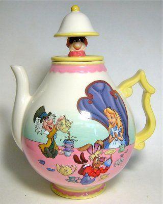 Alice In Wonderland Teapot (Westland) from Fantasies Come True