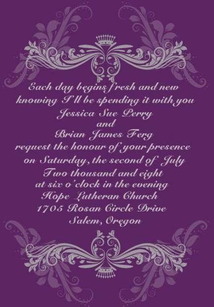 Trendy Wedding Invitations Wording Couple Hosting Grooms Ideas