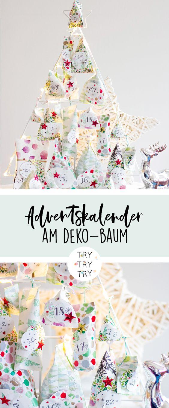 Tannenbaum Adventskalender