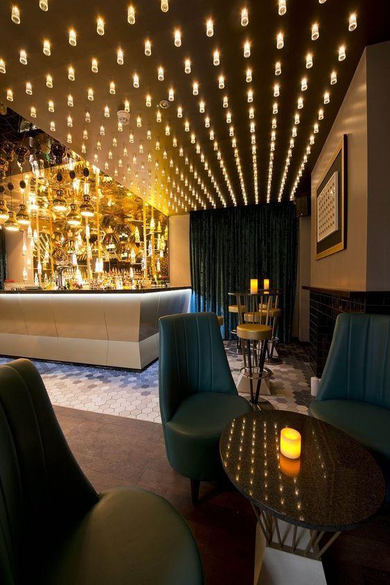 When Art Meets Design Lumiere Lighting Collection Bar Design