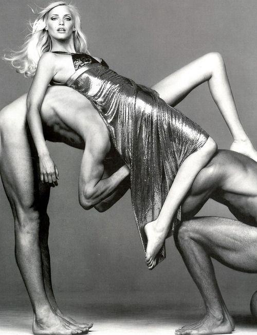 Modern Goddess | Nadja Auermann photographed by Richard Avedon. #Versace V | cynthia reccord