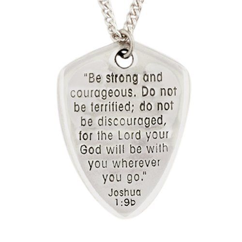 Bob Siemon Sterling Silver Large Reversible Shield Of Faith Pendant Necklace 20 Amazon Curated Christian Necklace Shield Of Faith Ctr Rings Women